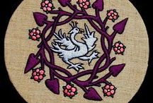 Medieval textile & embroidery
