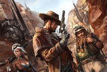 Shadowrun - Personnages / JDR shadowrun cyberpunk