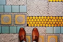 Tile Inspiration / All our favourite bathroom, kitchen and laundry tile designs and inspiration for the home.
