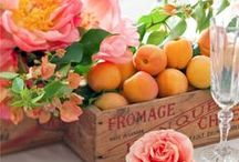 Spring is in the Air / Spring inspiration for weddings & events - a time of renewal, warm days, and singing love birds!