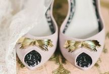 From Your Head, Down to Your Toes / The veil or birdcage, the smell good things, the private things, the heirloom statements, the twinkle toes - the perfect additions to complete your wedding day look