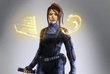 Shadowrun - Personnage Féminin / Shadowrun