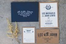 Signed, Sealed & Delivered / wording, invitations, etiquette