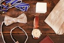 Accoutrements for Him / your better-half's accessories from the top of head down to his toes.