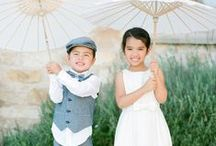 Little Ladies & Mighty Men / with tiny toes come tiny steps but big smiles & personalities-checkout the collection of flower girls and ring bearers for your family participation