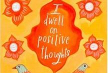 Affirmations / Positive affirmations to repeat, repeat, repeat...