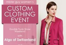 Mister Guy Trunk Shows / Join us for all types of trunk shows for men and women full of all types of goodies!