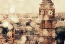 LONDON TOWN / Ever inspired by our British roots, imagery that captures our home base with romantic grace.
