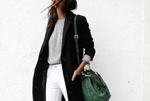 STYLE // COOL GIRL / Fashion, style, personal style for cooler fall & winter months
