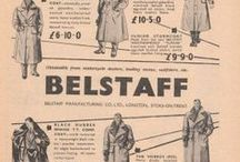 VINTAGE BELSTAFF ADS / A history of Belstaff through 90 years of advertisements.