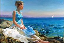 Acryl & Oil Painting