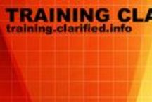 Training Clarified / Because you can!