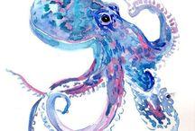 Octopus / Осьминоги