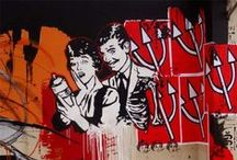 Street Art / A curation of the best graffiti and street art pieces around the world