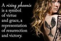 "Rising Like The Phoenix From The Ashes... / ""I will give you beauty for ashes."" ~ HaShem"