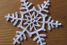 Z snowflakes - stars - hvězdičky