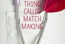 Crazy Little Thing Called Matchmaking / My inspiration for book #1 in my small town series. A widow fights her feelings for her young boss, while her teenage sons try their hands at matchmaking to get their mom and her boss together.