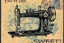 Vintage sewing ✂️✂️✂️ / This board is related to the sewing. Enjoy pinning!       Please only sewing!         Prosím pouze vše o šití ve vintage stylu!       шитье!  / by Hana Kratochvílová