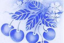 Blue cherries my love