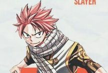 Anime & Manga : NATSU DRAGNEEL (Fairy Tail) / Only Natsu Dragneel in here. My future boyfriend. I really adore him. He is so cool, stupid, brave, and badass. Gosh! I really love him!!