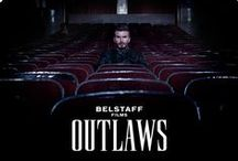 OUTLAWS / Outlaws is a surreal film within a film starring David Beckham as the stranger - a mysterious drifter and motorcycle stuntman, haunted by memories of a beautiful trapeze artist and hunted by a maniacal director seeking revenge #Outlaws #BelstaffFilms