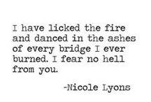 Fyrgebraec / (n.) the distinct, sharp crackling or breaking sound created by fire
