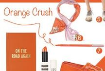 orange / by Eat Breathe Live Color | Zoe