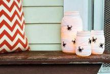 Boooooo!! / Halloween treats, projects and decorating ideas / by Debra Marigoni