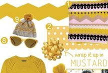 Mustard / by Eat Breathe Live Color | Zoe