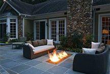 Indoor - Outdoor spaces / by Heather Sorensen
