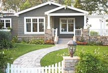 Home Sweet Home - Exteriors / by Heather Sorensen