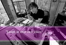 {bookish} Authors on writing