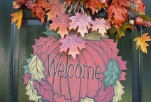 WELCOME AUTUMN / The morns are meeker than they were, The nuts are getting brown; The berry's cheek is plumper, The rose is out of town. The maple wears a gayer scarf, The field a scarlet gown. Lest I should be old fashioned, I'll put a trinket on. http://www.elizabethmarxbooks.com