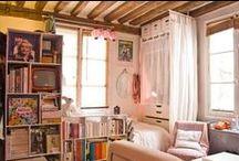 Studio Apartment Ideas / Decorating and furniture for small spaces, studio apartments, and apartment living.