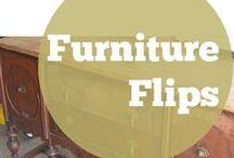 Refurbished Furniture Ideas / Recycled furniture, refurbished furniture, DIY furniture, do it yourself home decor