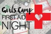 LDS Girls Camp Ideas / LDS Girls Camp Ideas, camping hacks, camping tricks, campfire songs, camping games