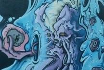 Street Art in #Ravenna (RA) / #wallpainting #StreetArt #Ravenna #Romagna #Italy