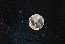 """I'm fall in love with the moon & stars! / """"When I see your heavens, the works of your fingers, The moon and the stars that you have prepared, what is mortal man that you keep him in mind, And a son of man that you take care of him?"""" Psalm 8:3,4"""