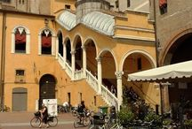 Ferrara (FE), Italy / A treasure chest of art and history, surrounded by the green of plains. Nice to visit by bike, it has a timeless atmosphere.