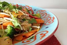 Vegetarian Salads / Delicious, hearty salads perfect for vegetarians