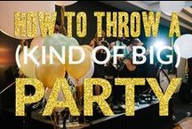 Events and Party Planning / Party planning, dinner parties, event planning, wedding planning, dinners for large groups, party foods, decorations,