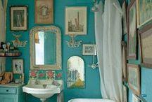 Eclectic Bohemian Decor / Eclectic Farmhouse, Bohemian decoration, colorful homes, farm house, eclectic decor
