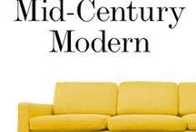 Mid century furniture / Home decor, mid-century furniture, retro furniture, midcentury furniture, mid-century decorations