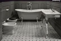 Bathrooms / Bath decorations, bathroom decorations, bath decor, toilet, showers, bathtubs, sinks / by Erin McBride