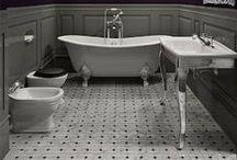 Bathrooms / Bath decorations, bathroom decorations, bath decor, toilet, showers, bathtubs, sinks