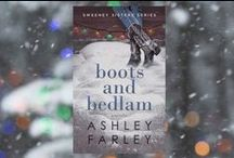 Boots and Bedlam / Third Installment in the Sweeney Sisters Series,  Scheduled for release on October 18, 2016  'Tis the season for chaos.  Escape to the Lowcountry this Christmas where romance, intrigue, and holiday merrymaking await you.