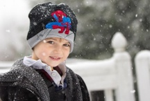 Snow and family photography / family photography and snow