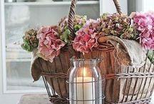 Blomster og kransar