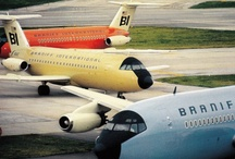 legacies & liveries / Legacy airlines. Paint jobs. My obsession with airplanes, pinned.