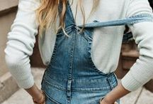 Overall Obsession / Inspirations et looks 100% salopettes